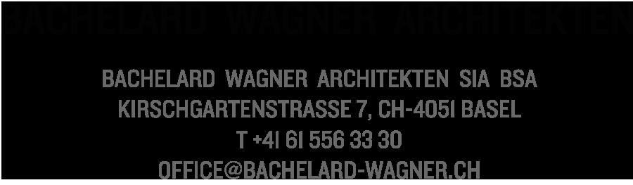 Bachelard Wagner Architekten