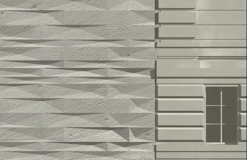 Detail Fassade / Materialisierung