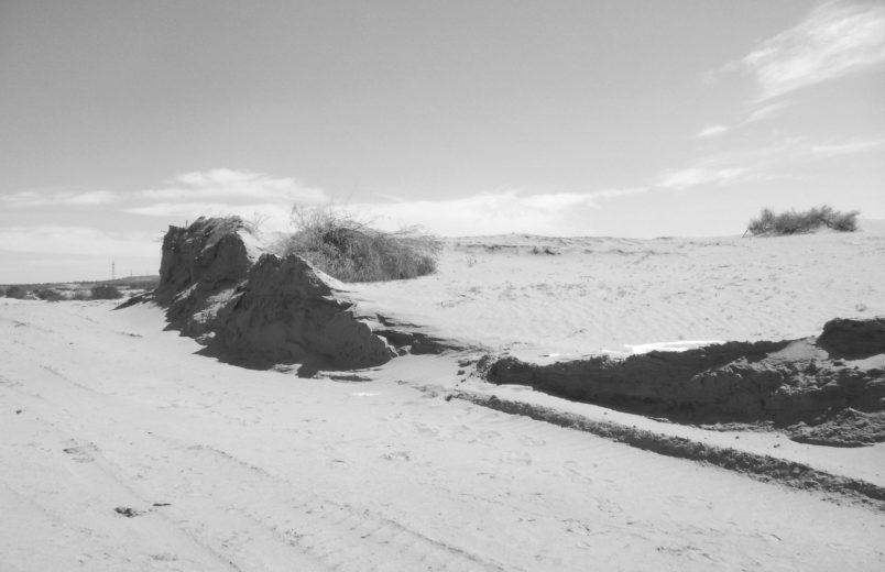 Standort mongolische Wüste