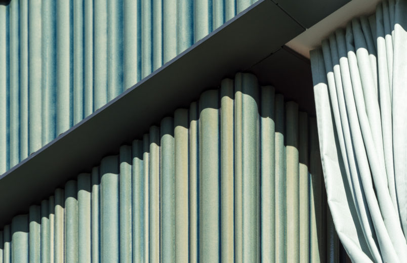 Detail Fassade / Keramikelemente