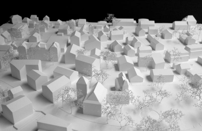 Model mit Erweiterung Dorfkern