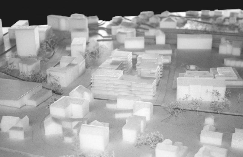 Modell Neubauten im Kontext