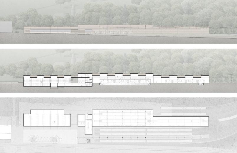 Ansicht / Schnitt / Grundriss