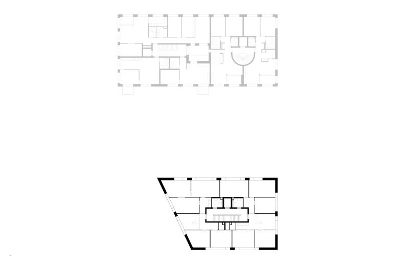 Regelgeschoss / Haus H