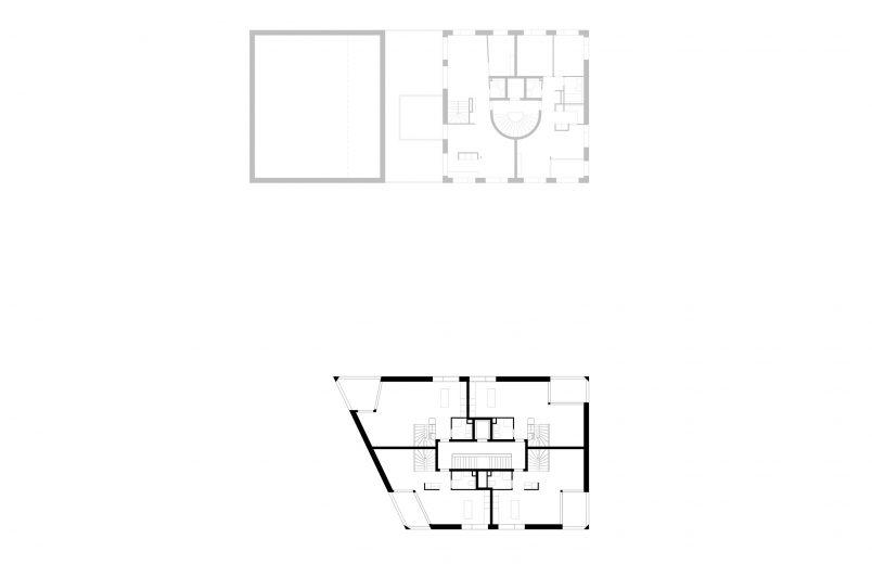 4. Obergeschoss / Haus H